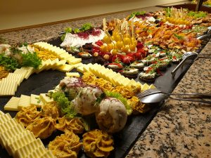 Buntes Fingerfood Buffet